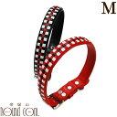 首輪 Mサイズ 小型犬 ピッチカラー 革素材