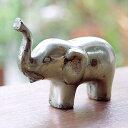 真鍮でできた象のオブジェ[Aタイプ][9522]【バリ 雑貨 アジア雑貨 アジアン雑貨 新生活】【バリ島の置物】