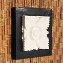 立体的なかわいいお花が彫られたストーンレリーフ[11015]【壁掛け アート おしゃれ かっこいい かわいい アジアン雑貨 アジア雑貨 インテリア ウォールデコレーション オブジェ タイル 壁掛け 壁飾り 置物 花 ハワイアン雑貨 バリ雑貨】 05P03Sep16