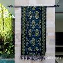 【メール便対応】バリ島の独特な模様が入った手織りの アジアン...