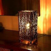 アジアン照明 パームツリーランプ[コラムタイプ四角形][4032]【アジアンランプ スタンド 照明 フロアライト フロアランプ テーブルランプ 間接照明 おしゃれ 和風 バリ 雑貨 アジアン雑貨 フロアスタンド 照明器具 リビング ダイニング】 05P06Aug16