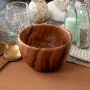 木製食器 - ラウンドボール アカシアウッド 木製食器 木製 丸型 [94715]【 木 食器 皿 木皿 おしゃれ 北欧 お洒落 】
