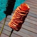 キャットテイルフラワー オレンジ オブジェ アジアン ハワイアン ナチュラル フラワー