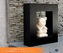 フレーム付き石像(A)(18×21cm)(9641)【バリ雑貨・アジア雑貨・アジアン雑貨】【バリ島の彫刻・石像】【%OFF セール sale】【HLS_DU】