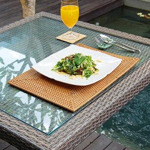 アジアン ランチョン スクエア アジアンランチョンマット テーブル