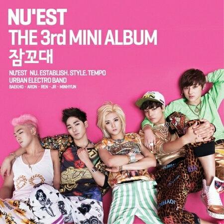 【メール便送料無料】NU'EST/ 寝言 -3rd mini album (CD) 韓国盤 ニューイースト
