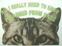 ネコ猫Tシャツ【サイズ:S 、M 、L 、XL 】【5000円以上で】送料無料 Tシャツ メンズ 半袖 大きいサイズ メッセージ ネコ 猫好..