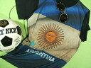 アルゼンチン国旗Tシャツ【サイズ:大きめS 】【5000