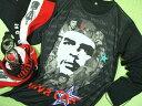 ショッピング写真集 チェ・ゲバラ長袖Tシャツ【サイズ:大きめS 、L 】【5000円以上で】送料無料 Tシャツ メンズ 長袖 ロンT プリント ゲバラTシャツ チェゲバラ 長袖Tシャツ Che Guevara Tshirt プレゼント包装無料