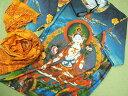チベット仏教のTシャツ、曼荼羅のTシャツ【サイズ:M 】【5000円以上で】送料無料 大きいサイズのTシャツ プリントTシャツ メンズ 大きいサイズ 曼荼羅 チベット 仏教 仏陀 デザインTシャツ 半袖Tシャツ ラッピング無料
