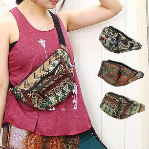 エスニック コンパクト ウエスト アジアン ファッション レディース ユニセッ