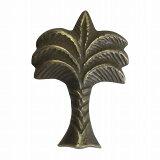 椰子の木 家具の取っ手真鍮製 ハンドルN-102