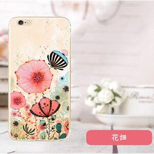 【iPhone6s plus / iPhone6 plusケース】★花畑-フラワ