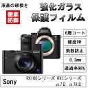 Sony強化ガラス液晶保護フィルム DSC-RX100シリー...