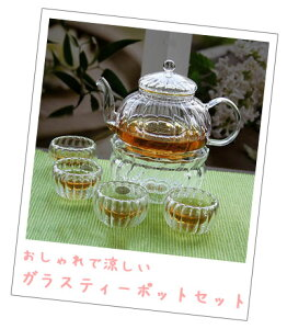 Glassティーポット「蓮花RENKA」