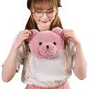 ショッピング誕生日 アニマル バッグ 鞄 カバン クマ 熊 ベア ポーチ バッグ セット ピンク ブラウン 旅行 ポーチ お出かけ かわいい おしゃれ ゆるかわ プレゼント ギフト 子供 誕生日 ラッピング 送料無料