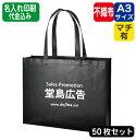 ショッピングエコバッグ 大容量の不織布のトートバッグです。大きな印刷範囲はイベント販促用バッグに最適です。展示会の配り物トートとして配布すれば、会場内でのPR効果バツグンです!