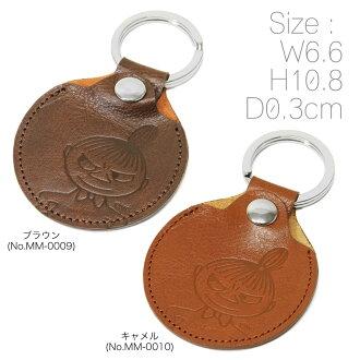 [72 小時有限點兩倍以上 ! ︰ 密匙環鑰匙圈男士姆明姆明皮革皮革配件鑰匙圈品牌排名禮物禮物