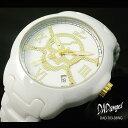 DADangel ダッドエンジェル オールセラミック スカル メンズ腕時計[DAD703]メンズウォッチメンズ 紳士 腕時計 時計 防水 どくろ 通販