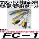 FC-1【防犯カメラ用隙間ケーブル】【監視カメラ】 【DAIWA】【ダイワ】
