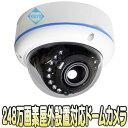 ASC-AHD1080DVF【屋外防雨型赤外線搭載248万画素フルハイビジョンドーム型カメラ】 【防犯カメラ】【監視カメラ】【送料無料】