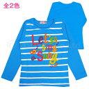 【延長】Tシャツ 長袖 ガール 女の子 子供 POPプリント トップス☆全8色【あす楽対応_北海道】【タイムセール】