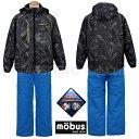【月間賞】スキーウエア メンズ mobus モーブス 耐水圧...