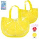 ショッピングビーチバッグ ビニールバッグ 子供 女の子 キッズ プール トートバッグ☆全2色【あす楽対応_北海道】