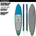 "SUP インフレータブル SUP 12'x33"" アトラス デラックス スターボード 2016 STARBOARD INFLATABLE SUP ATLAS DELUXE 2016 サップ S.U.P スタンドアップパドルボード SUP【送料無料】【代引不可】sup stand up paddle"