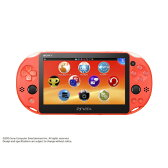 PlayStation Vita Wi-Fiモデル ネオン・オレンジ PCH2000ZA24 ソニーコンピュータエンタテインメント