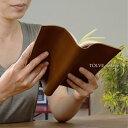 【2021年9月度月間優良ショップ受賞】[アソボーゼ]ブックカバー 新書 本革 日本製 誕生日 祝い ギフト TOLVE トルヴェ TO-C008 送料無料