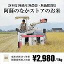 [無農薬・無施肥栽培] 阿蘇のなかストアのお米 5kg / 自然栽培 / 九州 熊本 阿蘇産 / 玄