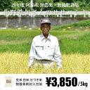 [29年度産 自然栽培米] 北野鉄矢さんのお米 5kg / 無農薬・無施肥栽培 / 九州 熊本 阿蘇
