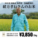 [無農薬・無施肥栽培] 緒方孝行さんのお米 5kg / 自然栽培 / 九州 熊本 阿蘇産 / 玄米・