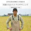 [30年度産 自然栽培米] 阿蘇のなかストアのお米 ササニシキ 5kg / 無農薬栽培歴27年以