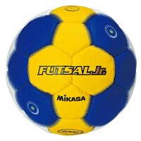 [Mikasa]ミカサ ソフトタイプ フットサルボール ジュニア用 FLL300WBY・00 ホワイト×ブルー×イエローの画像