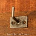 iron plate hook square アイアンプレー...