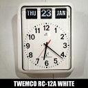 時計 TWEMCO トゥエンコ RC-12A 壁 掛け時計 ...