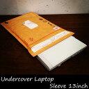 Undercover Laptop Sleeve 13inch アンダーカバーラップトップスリーブ 13インチ ノートパソコン スリーブケース カバー ケース MacBook マックブック タブレット iPad pro air 封筒 オシャレ 海外 茶封筒 外国 タイベック素材 防水 ガジェット おしゃれ 10P02Aug14