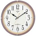 シチズン 電波掛け時計 かけ時計 電波クロック CITIZEN 8MY416-006 正規品