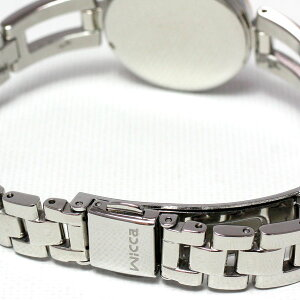 シチズンウィッカCITIZENwiccaエコドライブソーラー電波時計腕時計レディースバングル/ラウンドKL4-338-11