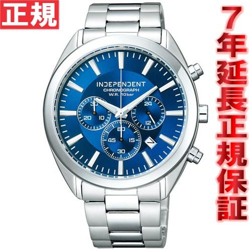 インディペンデント INDEPENDENT 腕時計 メンズ 時計 クロノグラフ シチズン CITIZEN BR1-412-71【対応】【即納可】 [正規品][送料無料][7年延長正規保証][ラッピング無料][サイズ調整無料] 対応