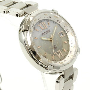 シチズンクロスシーCITIZENXCエコドライブソーラー電波時計腕時計レディースTITANIAラインハッピーフライト北川景子EC1060-59W