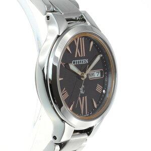 シチズンクロスシーCITIZENXCエコドライブソーラー腕時計レディースデイデイト北川景子イメージキャラクターEW3220-54W