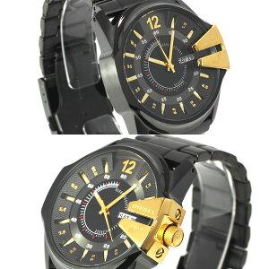 ディーゼルDIESEL腕時計DZ1209メンズブラック