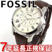 FOSSIL フォッシル 腕時計 メンズ GRANT グラント クロノグラフ FS4735【FOSSIL フォッシル】【あす楽対応】【即納可】【正規品】【送料無料】【楽ギフ_包装】【FOSSIL フォッシル FS4735】【楽天BOX受取対象商品】