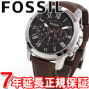 【10%OFFクーポン!3月27日9時59分まで!】FOSSIL フォッシル 腕時計 メンズ GRANT グラント クロノグラフ FS4813