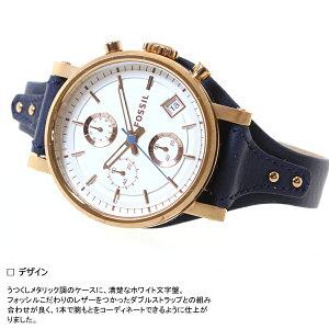 フォッシルFOSSIL腕時計レディースオリジナルボーイフレンドORIGINALBOYFRIENDクロノグラフES3838
