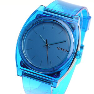 ニクソンNIXONタイムテラーPTIMETELLERP腕時計メンズ/レディーストランスルーセントブルーNA1191781-00