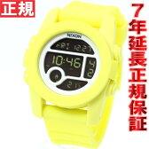 ニクソン NIXON ユニット40 UNIT 40 腕時計 レディース/メンズ パステルイエロー 日本先行発売カラー デジタル NA4901612-00【正規品】【楽ギフ_包装】【NIXON ニクソン NA4901612-00】【楽天BOX受取対象商品】